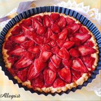 Tarta con fresas