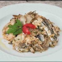 Sardinas con alcachofas