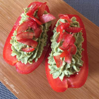 Tomatoes With Green Cream step 7