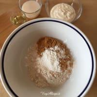 Torta integral con albaricoques paso 3