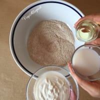 Torta integral con albaricoques paso 4