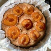 Torta integral con albaricoques paso 6