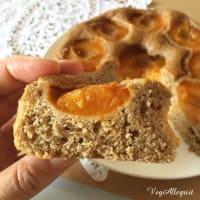 Torta integral con albaricoques paso 7