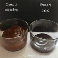 Crema de chocolate y crema de cacao paso 5