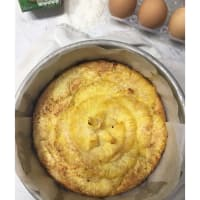 Torta de coco y piña