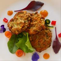 Albóndigas veganas con zanahorias y calabacín