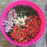 The real tabbouleh to the Lebanese step 4