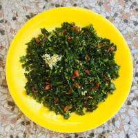 The real tabbouleh to the Lebanese step 6