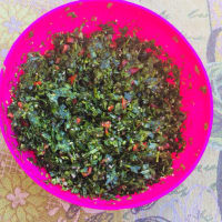 The real tabbouleh to the Lebanese step 5