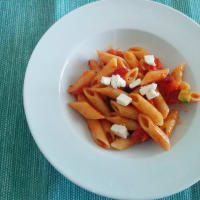 Ensalada de pasta de verduras