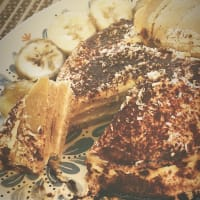 Ciccio pancak misu perfumado con coco rapé