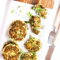 Frittelle di broccoli e feta