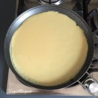 Crepes de garbanzos paso 7
