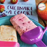 Paletas de yogurt y fruta