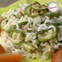 Ensalada de arroz ligero