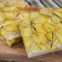 Focaccia potatoes and cheese!