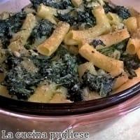 Pasta al forno con spinaci e stracchino