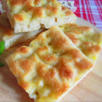 Soft Focaccia (with only 1 g of yeast)