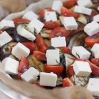 Savory pie feta and eggplant! step 6
