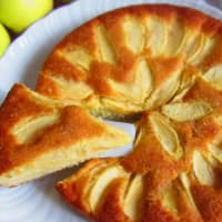 Pastel de manzana suave