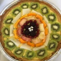 Thousand fruit tart