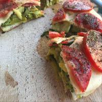 Pita light zucchine e curcuma step 9