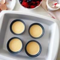 Mini cheesecake con yogurt greco, senza glutine step 2
