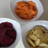 Chips di Verdure step 1