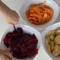 Chips di Verdure step 2