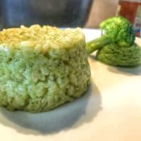 Riso con crema di broccolo step 4