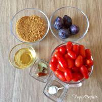 Salsa de tomate picante paso 1