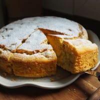 Torta De Maiz Y Uvas
