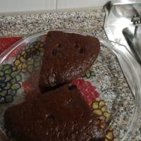 Torta al cacao all'acqua
