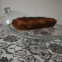 Plumcake with chestnut and orange flour