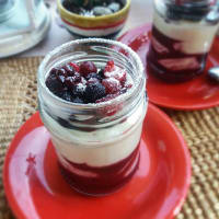 Panna Cotta Con Yogurt
