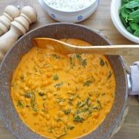 Curry De Garbanzos Y Espinacas paso 4