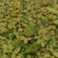 Orzo risottato ai broccoli