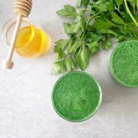 Smoothie verde per una carica di vitamine step 1