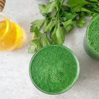 Smoothie verde per una carica di vitamine step 2