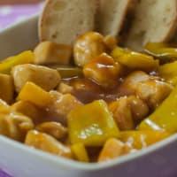 Pollo in salsa agrodolce!