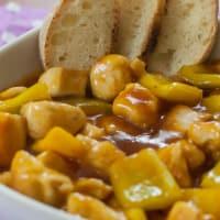 Pollo in salsa agrodolce! step 6