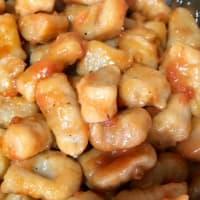 Gnocchi with wholemeal flour