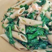 Pennette integrali con salmone e spinaci step 6