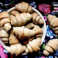 Croissants salados Semillas de quark y amapola