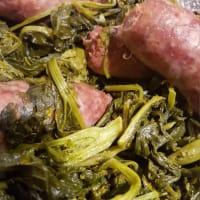 Brócoli y salchicha