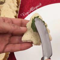 Sándwiches de navidad paso 12