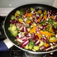 Farro con verdure d'autunno step 2
