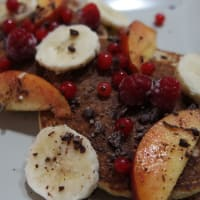 Integral pancakes with oats