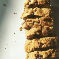 Quick and easy cookies with chocolate step 3