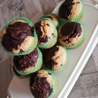 Muffin all'acqua Cioccococco